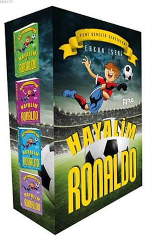 Hayalim Ronaldo Seti (Dört Kitap Kutulu)