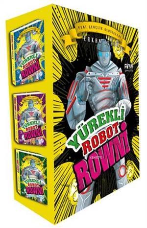 Yürekli Robot Rowni Seti (Üç Kitap Kutulu)