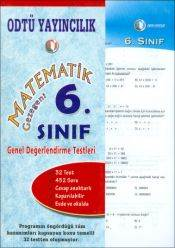 Matematik Gez. 6. Sınıf Değerlendirme Testi