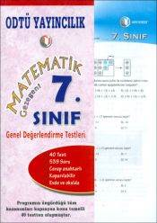 Matematik Gez. 7. Sınıf Değerlendirme Testi