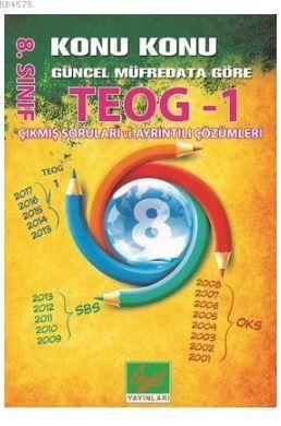 8.Sınıf TEOG 1 Konu Konu Güncel Müfredata Göre Çıkmış Soruları Ve Ayrıntılı Çözümleri