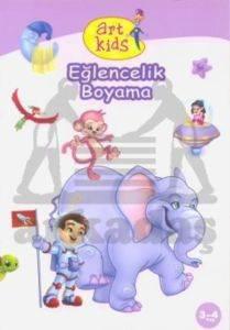 Art Kids Eğlencelik Boyama (3-4 Yaş)