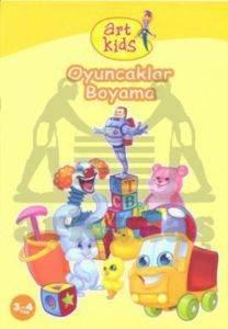 Art Kids Oyuncaklar Boyama (3-4 Yaş)