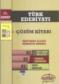 Türk Edebiyatı Çözüm Kitabı 11. Sınıf