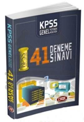 Data KPSS Genel Yetenek Genel Kültür Dipnotlu 41 Deneme Sınavı