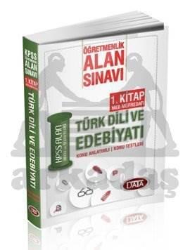 Data Öğretmenlik Alan Sınavı Türk Dili ve Edebiyatı 1.Kitap