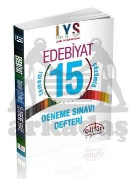 LYS Edebiyat Tamamı Çözümlü 15 Deneme Defteri