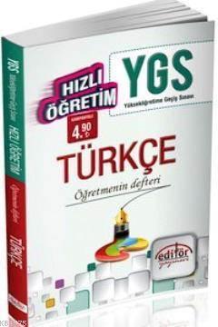 YGS Hızlı Öğretim Türkçe Öğretmenin Defteri