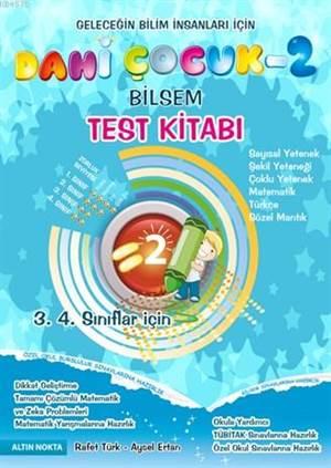 Dahi Çocuk 2 Bilsem Test Kitabı