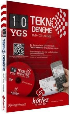 Körfez YGS Tekno Deneme 10 Fasikül Deneme (DVD'li)
