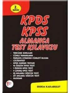 Kpds-Kpss Almanca Test Kılavuzu