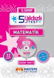Maltepe 5. Sınıf 5 Yıldızlı Test Matematik - DVD'li