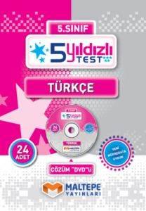 Maltepe 5. Sınıf 5 Yıldızlı Test Türkçe - DVD'li