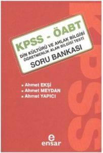 KPSS ÖABT Din Kültürü ve Ahlak Bilgisi Soru Bankası