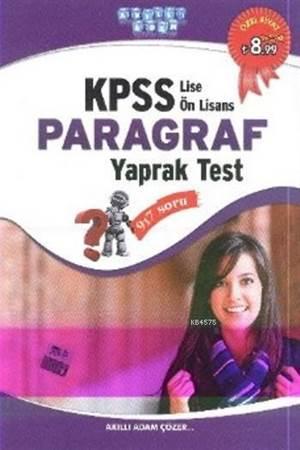 KPSS Lise Önlisans Paragraf Yaprak Test