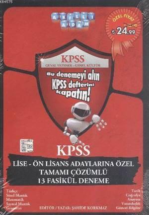 KPSS Lise Ve Ön Lisans Adaylarına Özel 13 Tamamı Çözümlü Deneme 2014