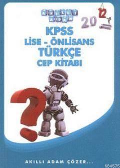 KPSS Lise - Önlisans Türkçe Cep Kitabı