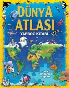 Dünya Atlası Yapboz Kitabı