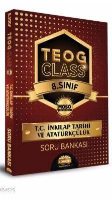 Teog Class 8. Sınıf İnkılap Tarihi Ve Atatürkçülük Soru Bankası