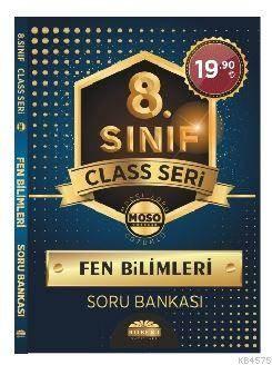 8. Sınıf Class Seri Fen Bilimleri Soru Bankası