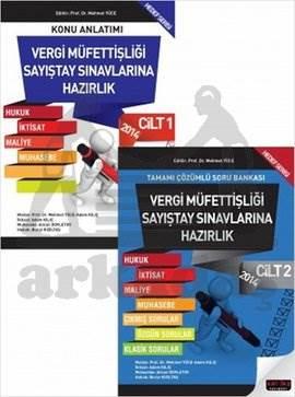 Sayıştay Vergi Müfettişliği Sayıştay Sınavlarına Hazırlık Kitabı 2 Cilt