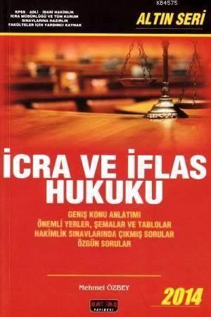 İcra Ve İflas Hukuku Altın Seri