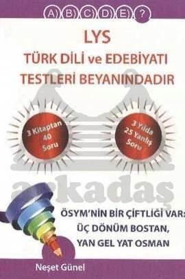 Karekök LYS Türk Dili Edebiyatı Testleri