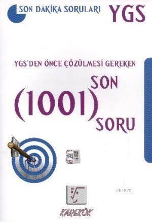 Ygs'Den Önce Çözülmesi Gereken 1001 Soru