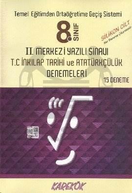 8. Sınıf Merkezi Yazılı Sınavı T.C İnkılap Tarihi ve Atatürkçülük Kitabı