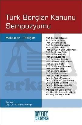 Türk Borçlar Kanunu Sempozyumu