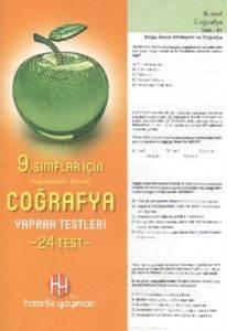 9. Sınıf Coğrafya Yaprak Testleri
