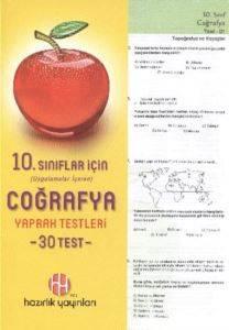 Hazırlık 10. Sınıf Coğrafya Yaprak Testleri