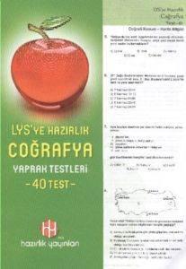 Hazırlık LYS Coğrafya Yaprak Testleri