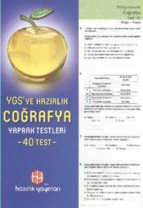 Hazırlık YGS Coğrafya Yaprak Testleri