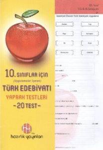 Hazırlık 10. Sınıf Türk Edebiyatı Yaprak Testleri