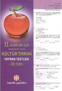 Hazırlık 11. Sınıf Kültür Tarihi Yaprak Testleri
