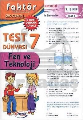 Faktör 7. Sınıf Fen ve Teknoloji Test Dünyası