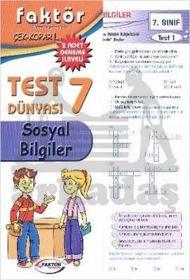 Faktör 7. Sınıf Sosyal Bilgiler Test Dünyası