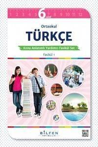 Ortaokul Türkçe 6 Konu Anlatımlı Yardımcı Fasikül Set