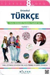 Ortaokul Türkçe 8 Konu Anlatımlı Yardımcı Fasikül Set