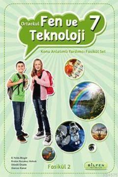 Ortaokul Fen ve Tek. 7 Konu Anlatımlı Yardımcı Fasikül Set