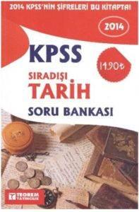 Teorem KPSS Sıradışı Tarih Soru Bankası 2014
