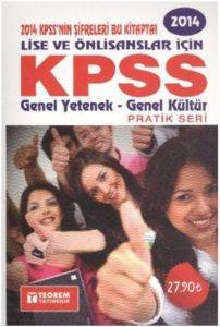 Teorem Pratik Seri KPSS Genel Yetenek Genel Kültür Lise Önlisans 2014