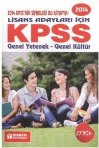 2014 Lisans Adayları İçin KPSS Genel Yetenek-Genel Kültür
