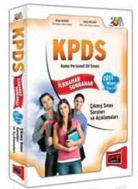 KPDS Kamu Personeli Dil Sınavı İlkbahar Sonbahar 2011 Mayıs İlaveli Çıkmış Sınav Soruları Ve Açıklamaları