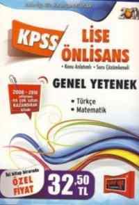 KPSS Lise Önlisans Genel Yetenek