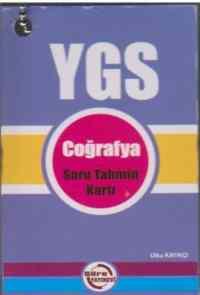 YGS Coğrafya Soru Tahmin Kartı