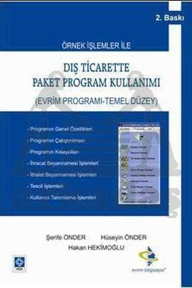 Diş Ticarette Paket Program Kullanimi