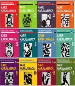 Dünya Beyin Olimpiyatları Kare Karalamaca Serisi (12 Kitap Takım)