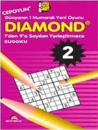 Diamond -2 1'den 9'a Sayıları Yerleştirme Su Doku